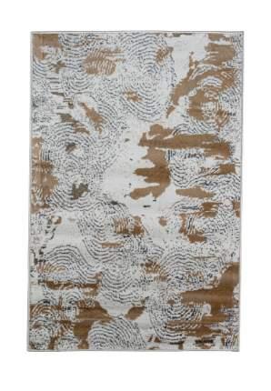 Ковер ворсовый NUR белый серый 100х150 арт. УК-1024-03 Kamalak tekstil
