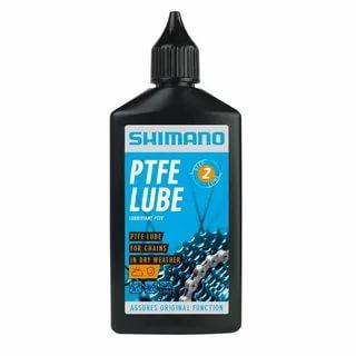 Смазка велосипедная Shimano WS1600131 для цепи для сухой погоды флакон 100 мл PTFE