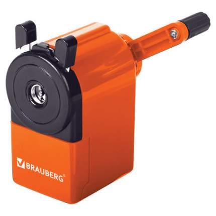 Точилка механическая Brauberg JET229567 , металлический механизм, оранжевый