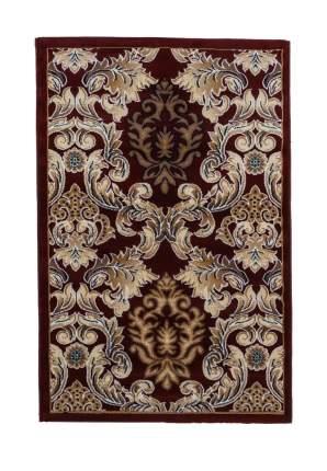 Ковер ворсовый ORHIDEA бордовый 120х180 арт. УК-1045-06 Kamalak tekstil