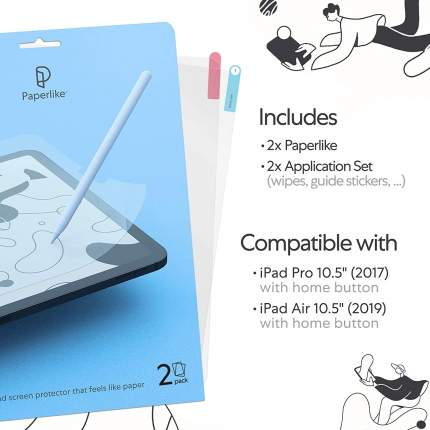 "Защитная пленка для рисования Paperlike Screen Protector для iPad 10.5"" (PL2-10-17)"