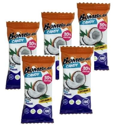 Bombbar Конфеты протеиновые (кокос и кешью) 5шт х 18г