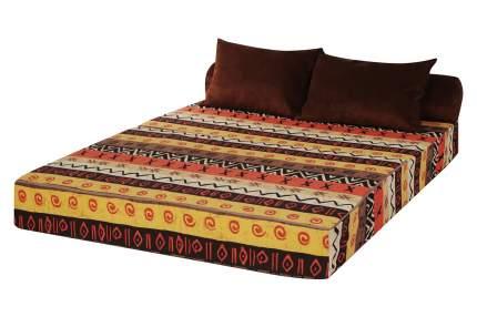 Бескаркасный диван DreamBag PuzzleBag XL, микровельвет, Африка