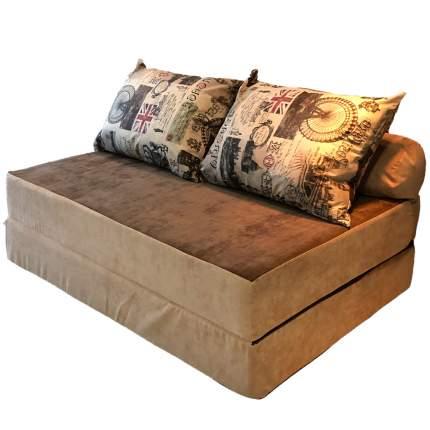 Бескаркасный диван DreamBag PuzzleBag XL, микровельвет, Челси