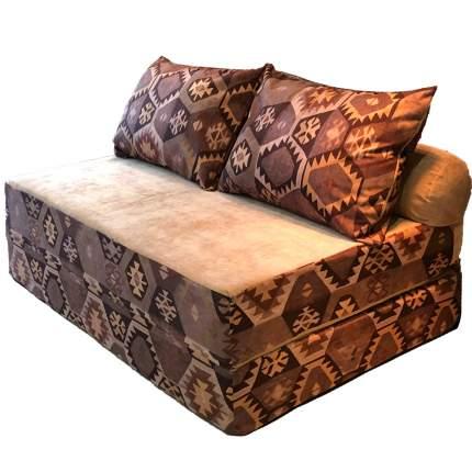 Бескаркасный диван DreamBag PuzzleBag XL, микровельвет, Мехико Коричневый
