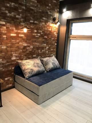 Бескаркасный диван DreamBag PuzzleBag XL, микровельвет, Тропики Лайт