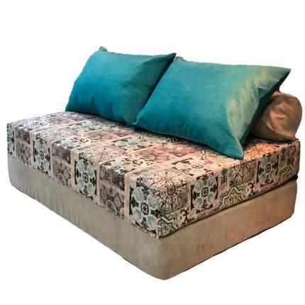 Бескаркасный диван DreamBag PuzzleBag XL, микровельвет, Сиена Мята