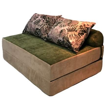 Бескаркасный диван DreamBag PuzzleBag XL, микровельвет, Джангл
