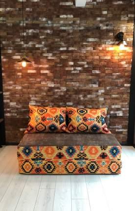 Бескаркасный диван DreamBag PuzzleBag XL, микровельвет, Мехико Оранжевый