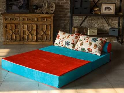 Бескаркасный диван DreamBag PuzzleBag XL, микровельвет, Бирюзовый