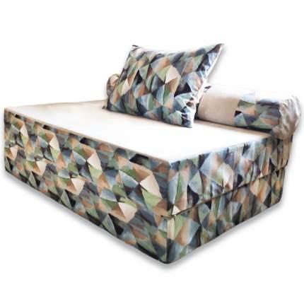 Бескаркасный диван DreamBag PuzzleBag XL, микровельвет, Твинкли Голубой