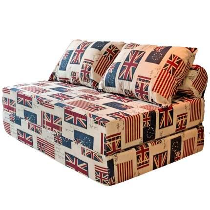 Бескаркасный диван DreamBag PuzzleBag XL, микровельвет, Флаги
