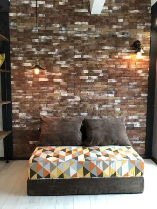 Бескаркасный диван DreamBag PuzzleBag XL, микровельвет, Янтарь