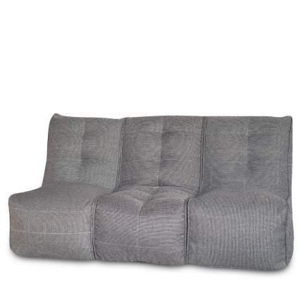 Бескаркасный модульный диван DreamBag Shape 3 one size, рогожка, Серый