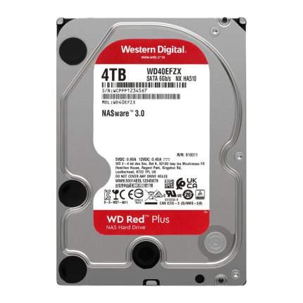 Внутренний жесткий диск Western Digital WD Red Plus 4TB (WD40EFZX)