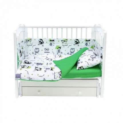 Бортики для детской кроватки Magic City БК-ББ-013/30 Важные совы