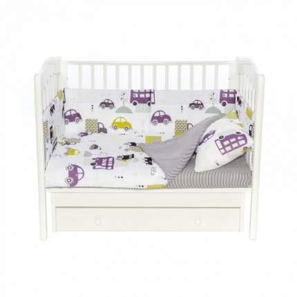 Бортики для детской кроватки Magic City БК-ББ-015/30 Городской транспорт