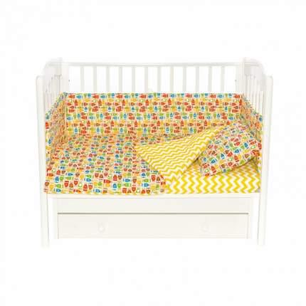 Бортики для детской кроватки Magic City БК-ПБ-026/30 Совы на отдыхе