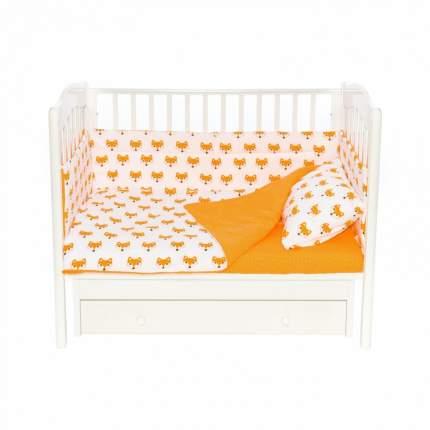 Бортики для детской кроватки Magic City БК-ПП-021/30 Апельсиновый лис