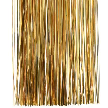 Дождик новогодний Kaemingk 431515 50 х 40 см золотистый