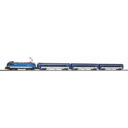 Стартовый набор Piko Пассажирский состав Taurus CD Railjet с пассажирскими вагонами