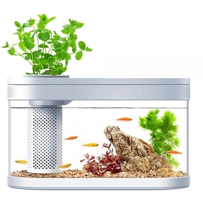 Аквариум для рыб Xiaomi Geometry Fish Tank Aquaponics Ecosystem C180 Standart Set 9 литров