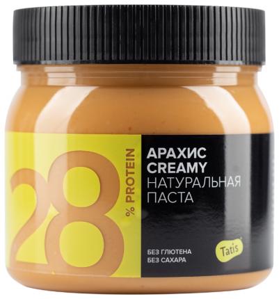 Tatis Арахисовая паста кремовая Татис, Creamy, 500 г