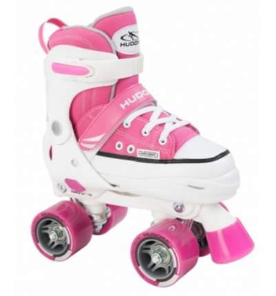 Ролики HUDORA Roller Skate разм. 32-35 розовые