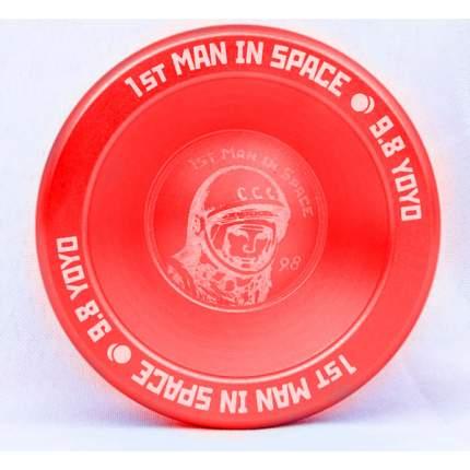 Йо-йо 9.8 1st Man in Space красный