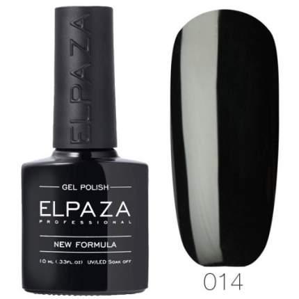 Гель-лак ELPAZA 014 Истинно чёрный