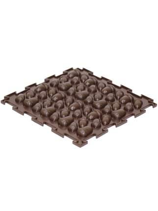 Массажный коврик Ортодон Желуди жесткие коричневый