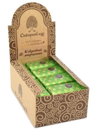 Конфеты шоколадные кедровый марципан, батончик. Сибирский кедр, шоу-бокс, 24 шт. по 50 г