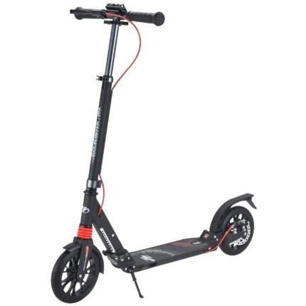 Самокат tech team city scooter disk brake 2020 (черный с красным) с колесами 200мм