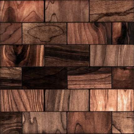 Валл 50x100. Деревянная настенная плитка на самоклеющейся основе 300x300 мм