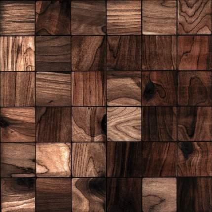 Валл 50x50. Деревянная настенная плитка на самоклеющейся основе 300x300 мм
