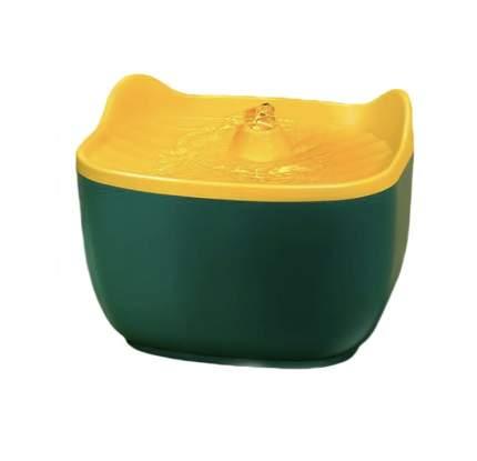 Автопоилка-фонтан для кошек и собак Nicovaer, зеленый, 2.5 л