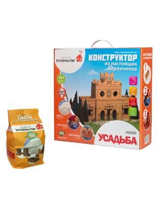 Набор для строительства Brickmaster Конструктор Усадьба + Смесь для строительства