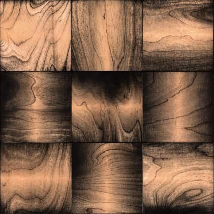 Эшфорд 100x100. Деревянная настенная плитка на самоклеющейся основе 300x300 мм