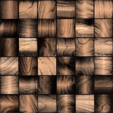 Эшфорд 50x50. Деревянная настенная плитка на самоклеющейся основе 300x300 мм