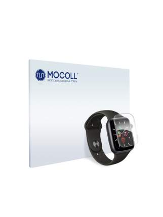 Пленка защитная MOCOLL для Apple Watch Series 6 44mm (6шт) глянцевая