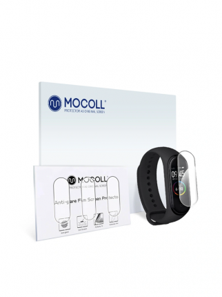 Защитная пленка MOCOLL для Xiaomi Mi Band 3 / Mi Band 4 / Mi Band 5 (3шт) Glossy