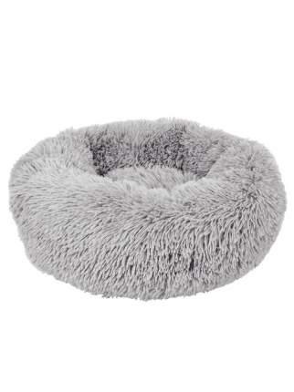 Лежанка для собаки STEFAN полиэстер 50x50x15см серый