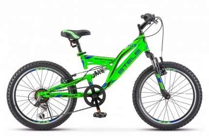 "Велосипед STELS MUSTANG V 20"" зелёный"