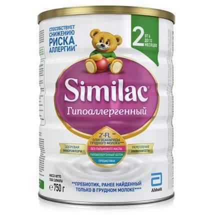 Детская смесь Similac 2 Гипоаллергенный с 6 до 12 мес - 750 г