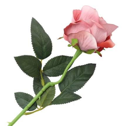 """Цветок искусственный """"Роза вельвет"""" 50см бледно-лиловый"""