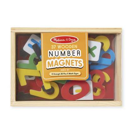 Магнитные игры Melissa & Doug Цифры, 37 шт.