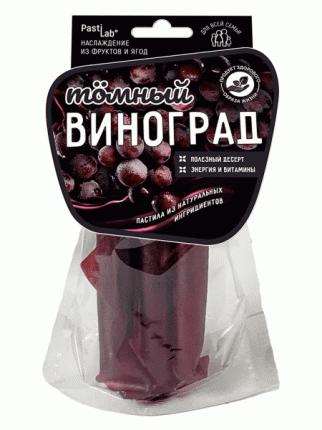 Фруктовая пастила Pastilab Виноградная, 50г.