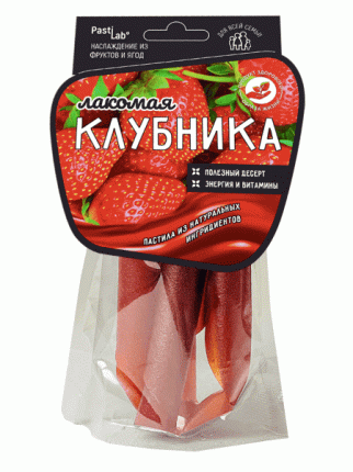 Ягодная пастила Pastilab Клубничная, 50г.