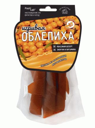 Ягодная пастила Pastilab Облепиховая, 50г.