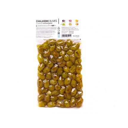 Оливки халкидики EcoGreece  (L) 250г